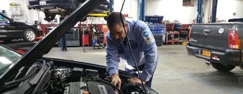 ASE trained and certified Master auto repair Technician at Precision Auto Works of Long Island City Car Repair Shop, NYC 11101