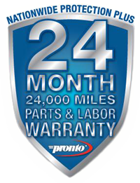 Precision Auto Works of NYC mechanic shop in LIC, NYC 11101 offers the Pronto 24 month Warranty